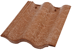 Marvelous Double Roman Composite Roof Tile Helps Homeowners Achieve The Look Of A  Classic Double Barrel Clay Tile. This Profile Features Added Textural  Detailing On ...