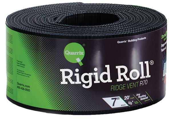 20 Rigid Roll Ridge Vent Quarrix